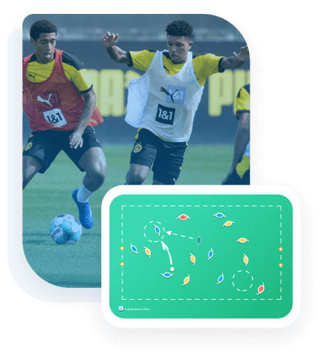 Animations simples - Entrainement Foot